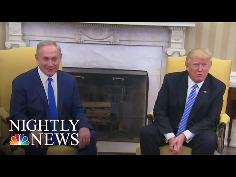 Israeli PM's Brother-In-Law, A Settlement Founder, Calls Trump 'A Gift From God' | NBC Nightly News