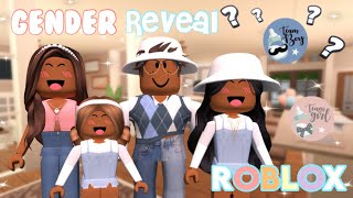 GENDER REVEAL PARTY! Is it a Boy or Girl? *Roblox Bloxburg Roleplay*