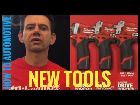 New Milwaukee Automotive Tools (2018 Milwaukee Tools New Product Symposium)