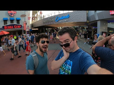 First time at Islands of Adventure! Universal Studios Orlando