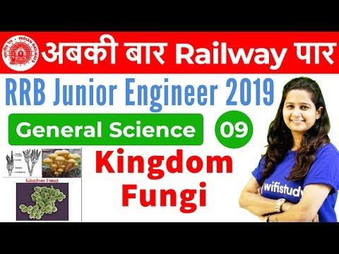 12:00 PM - RRB JE 2019 | GS by Shipra Ma'am | Kingdom Fungi