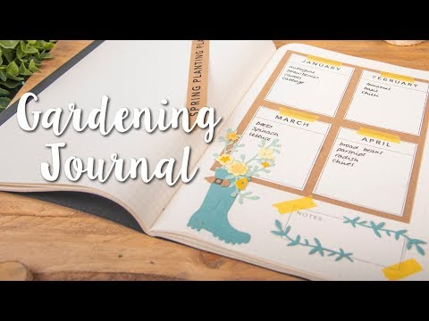 How to Create Gardening Journal with Rain Boot Planter - Sizzix