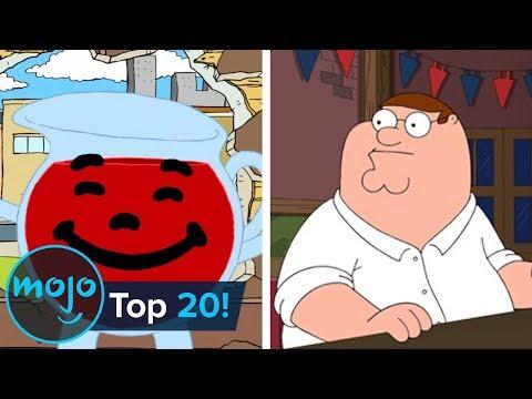 Top 20 Family Guy Running Jokes