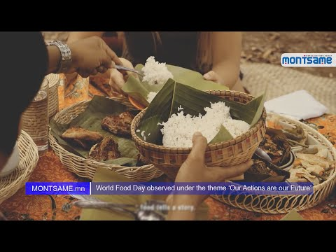 World Food Day observed under the theme 'Our Actions are our Future'