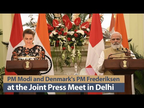 PM Modi and Denmark