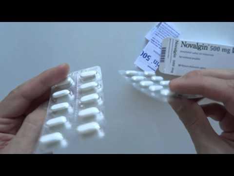 Medikamente zur Behandlung von Rückenschmerzen und Gelenkschmerzen