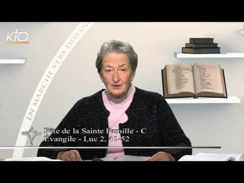 Fête de la Sainte Famille - C  : évangile