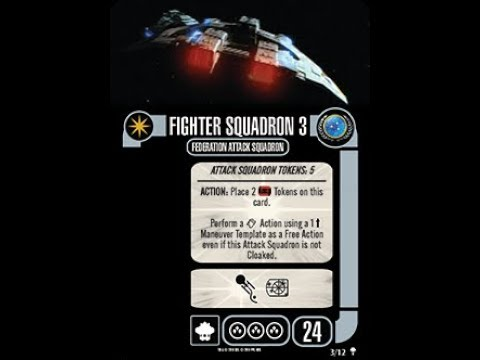 Star Trek Attack Wing Federation Fighters Card Pack
