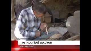 preview picture of video 'AKSEKİ BADEMLİ (BODAMYA) KAŞIK USTALARI HABERİ-NOSTALJİ 2013'