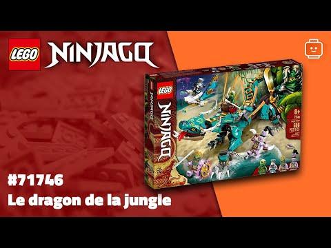 Vidéo LEGO Ninjago 71746 : Le dragon de la jungle