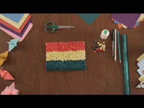 Como Hacer Una Bandera De Papel Tisu