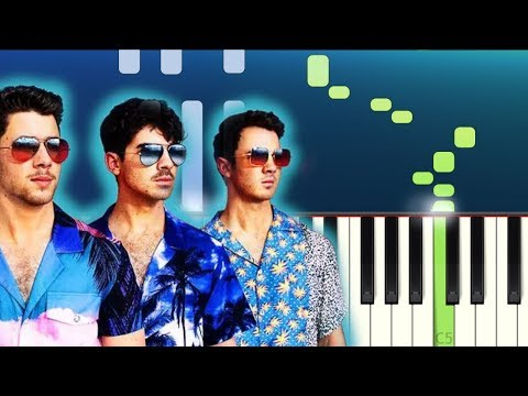Jonas Brothers - Cool (Piano Tutorial)