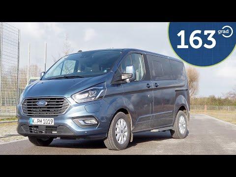 Ford Tourneo Custom Plug In Hybrid 2020 - Test, Verbrauch und Reichweite - Deutsch 163 Grad 4k