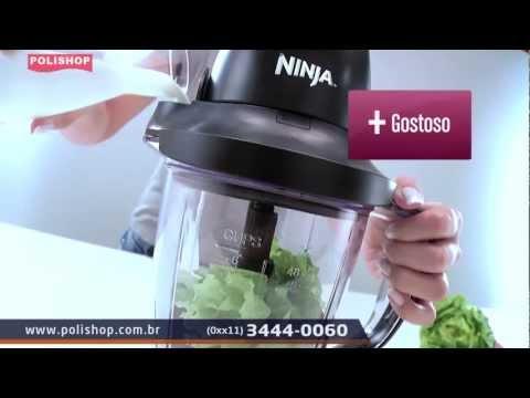 Processador Ninja Professional Preto na POLISHOP