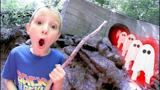 FATHER SON ADVENTURE TIME! / Ghost Sewer!