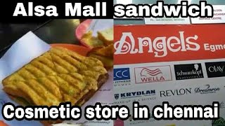 Tamil Shopping Vlog | Where To Buy Cosmetics In Chennai | Alsa Mall Sandwich
