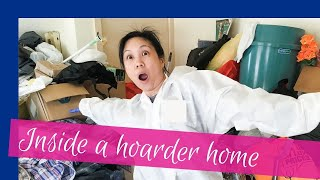 Hoarder house transformation | Decluttering a hoarder house
