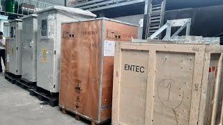 Lô Máy Cắt Recloser Entec + Tủ Trung Thế RMU Schneider + Tủ Điện Hạ Thế Solar ACB Mitsubishi, LS