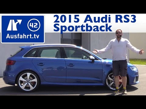 2015 Audi RS3 Sportback - Kaufberatung, Test, Review