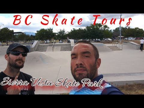 Full Skate Park Tour of Sierra Vista Skate Park Sierra Vista, Arizona