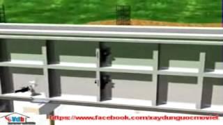 Video Thi công tường nhà