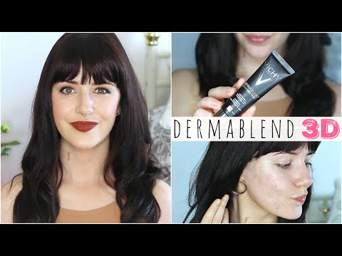 Vichy Dermablend 3D Foundation Review & Tutorial! | Melanie Murphy