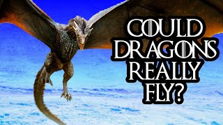The physics and biology of flying mythical beasts (feat. the yogscast)