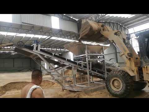 Buildtech In Line Sand Screening Machine