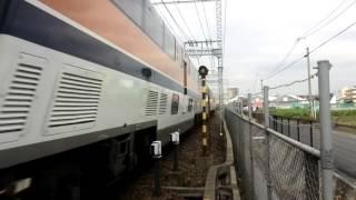 近鉄特急V02喫煙室付き賢島行き特急高速通過