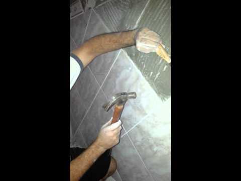 Como sacar azulejos sin romper