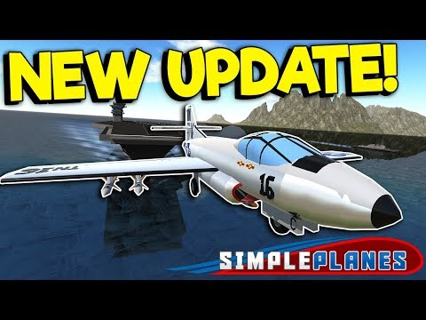 NEW CARRIER UPDATE & HELICOPTERS! - Simple Planes Creations Gameplay - Best Creations