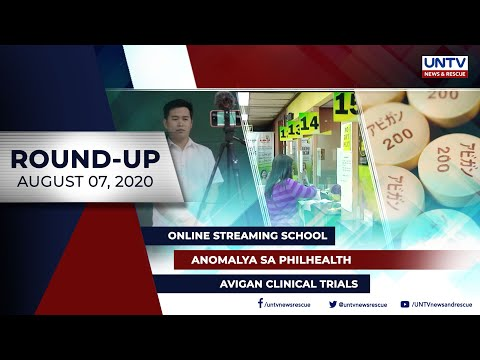 [UNTV]  UNTV NEWS ROUNDUP: Mga balitang dapat mong malaman (august 7, 2020)