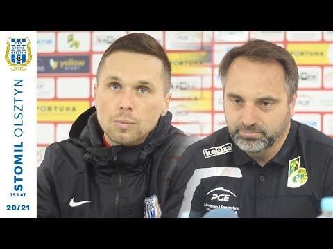Trenerzy po meczu GKS Bełchatów - Stomil Olsztyn 2:3