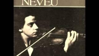 Ginette Neveu - Brahms Violin Concerto, 1rst mvt (1949)