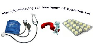 Non-pharmacological treatment of hypertension
