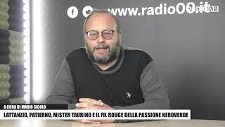 Lattanzio, Patierno, mister Taurino e il fil rouge della passione neroverde