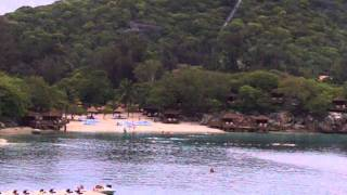 preview picture of video 'A view of Labadee Haiti from our balcony on Freedom of the Seas June 2011'