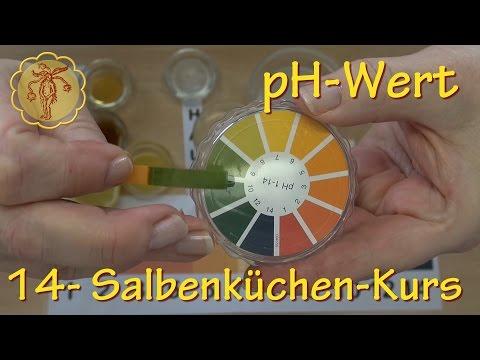 Salbenküchenkurs 14: pH-Wert - von sauer bis alkalisch
