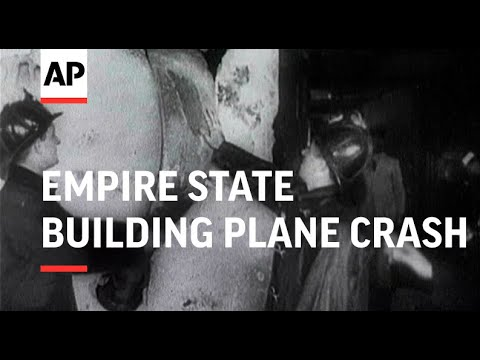 Empire State Building Plane Crash - 1945