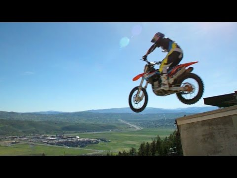 BTS: Robbie Maddison's Massive Dirtbike Ski Jump | On Any Sunday: The Next Chapter