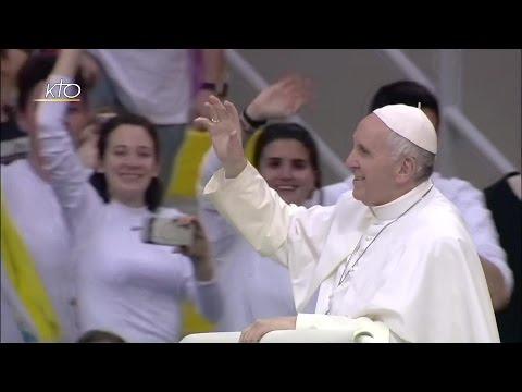 Rencontre du Pape François avec des jeunes confirmants à Milan