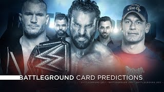 WWE Battleground 2017 - Card Predictions