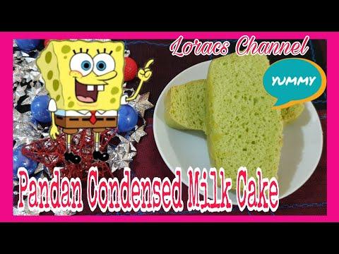 NO FROSTING PANDAN CONDENSED MILK CAKE/SIMPLE AND EASY COOKING RECIPE/PANLASANG PINOY