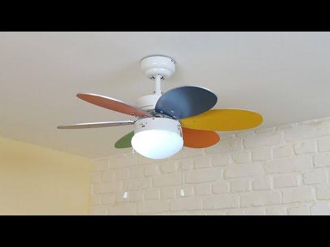 Ventilador de techo con luz - Bricomanía
