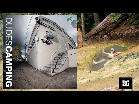 DC SHOES : DUDES CAMPING