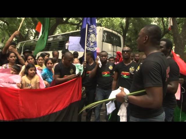 BIAFRANS IN INDIA ON MEMORIAL OF OUR HEROES 30TH MAY,2014. PART 1