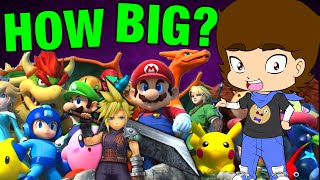 Game Theory: HOW BIG is The Super Smash Bros. Crossover Universe? - ConnerTheWaffle