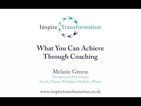 What do you want to achieve through coaching?