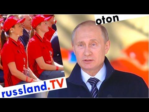 Putin zur Fußball-WM-Vorbereitung auf deutsch [Video]