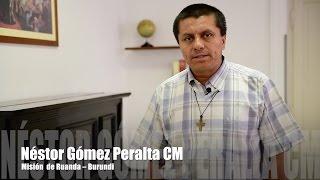 Néstor Gómez Peralta CM, Rwanda [po hiszpańsku]